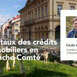 12/07/2021 – Les taux des crédits immobiliers en Franche-Comté